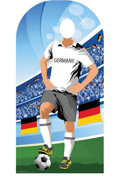 World Cup 2018 Germany Football Cardboard Cutout Stand-in
