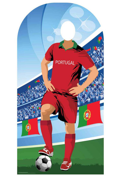 World Cup 2018 Portugal Football Cardboard Cutout Stand-in