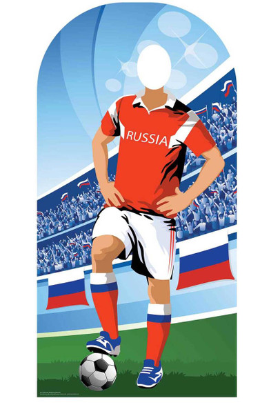 World Cup 2018 Russia Football Cardboard Cutout Stand-in