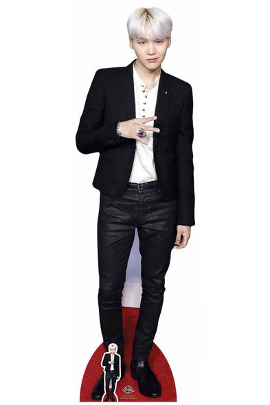 Suga from BTS Bangtan Boys Cardboard Cutout