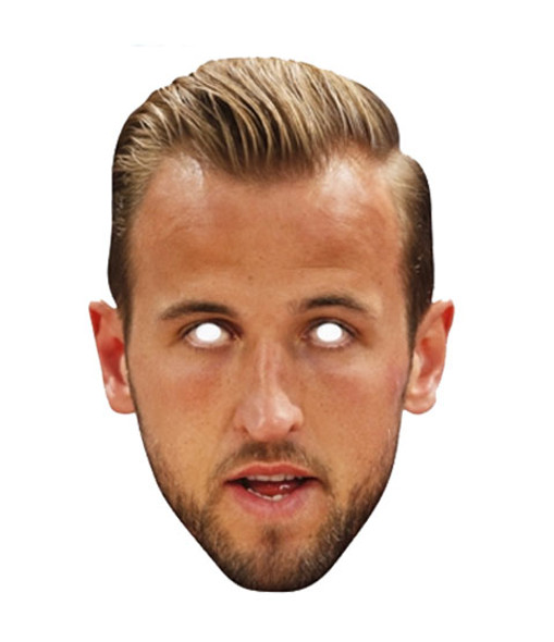 Harry Kane Footballer Single 2D Card Party Face Mask