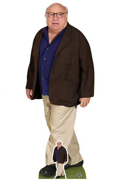 Danny DeVito Blue Shirt Cardboard Cutout