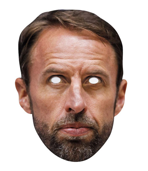 Gareth Southgate England Football Manager Face Mask