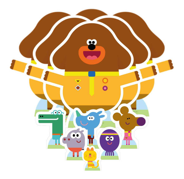 Hey Duggee and The Squirrel Club Table Top Party Pack of 12
