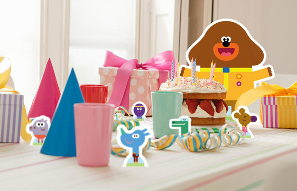 Hey Duggee and The Squirrel Club in Situ