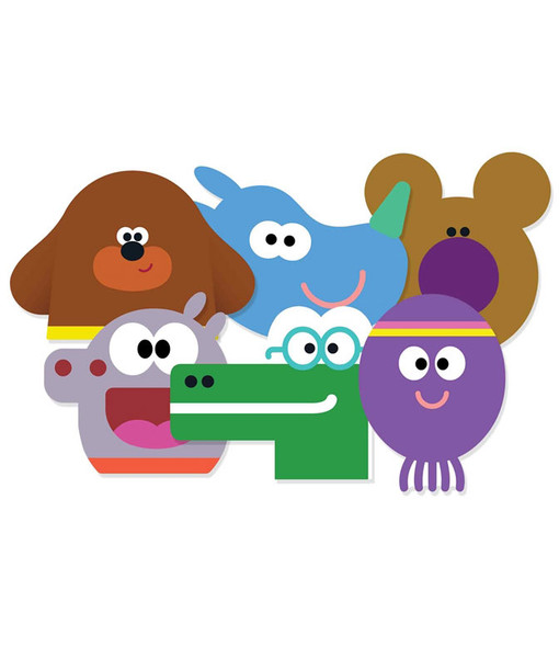 Hey Duggee Card Party Face Masks Variety pack of 6
