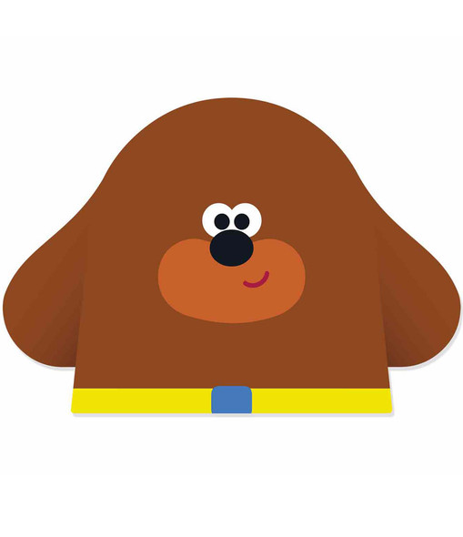 Hey Duggee 2D Card Party Face Mask