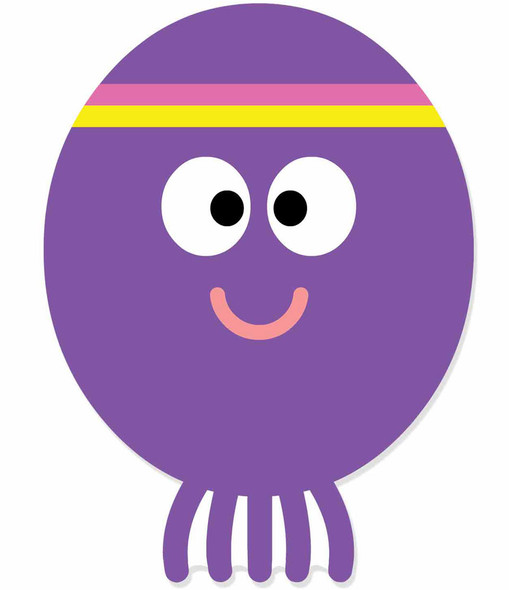 Betty from Hey Duggee 2D Card Party Face Mask