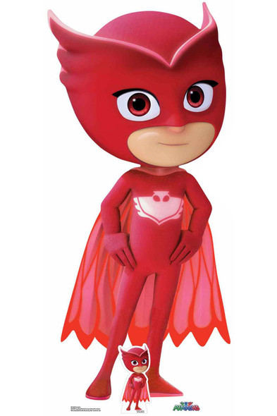 Owlette from PJ Masks Lifesize Cardboard Cutout