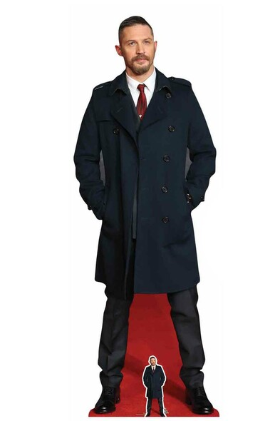 Tom Hardy Long Coat Cardboard Cutout / Standup / Standee