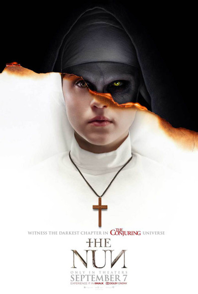 The Nun Original Movie Poster - Double Sided Advance Style