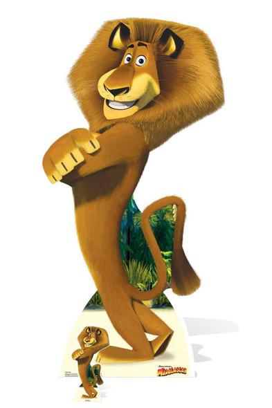 Alex the Lion from Madagascar Cardboard Cutout