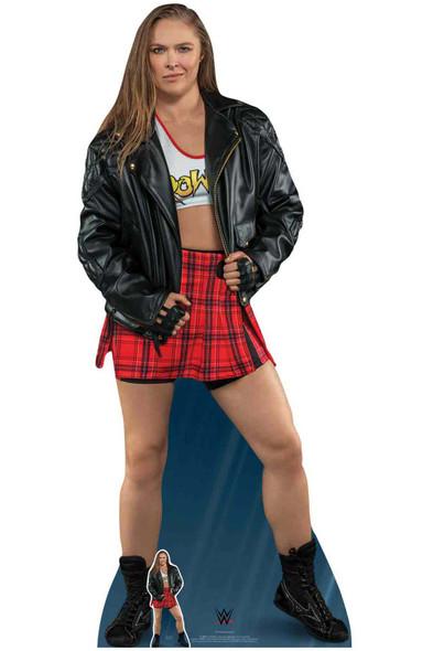 Ronda Rousey WWE Lifesize Cardboard Cutout / Standup