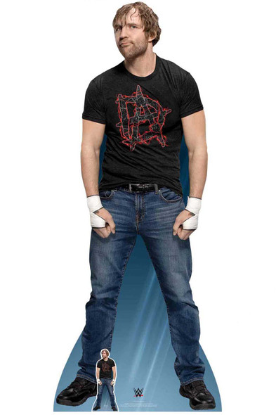 Dean Ambrose WWE Lifesize Cardboard Cutout / Standup