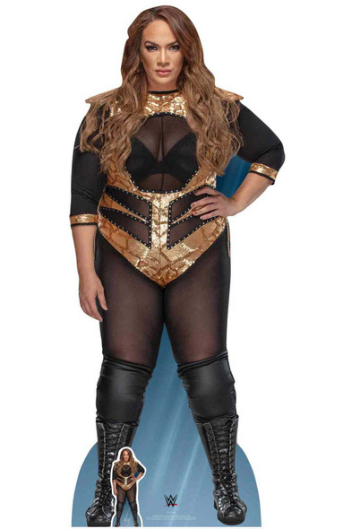 Nia Jax Official WWE Lifesize Cardboard Cutout / Standup