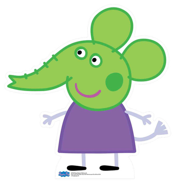 Emily Elephant from Peppa Pig Halloween Cardboard Cutout