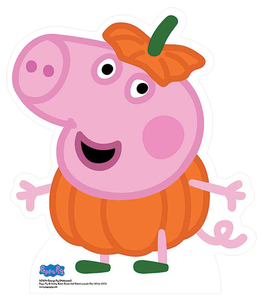 George Pig from Peppa Pig Halloween Cardboard Cutout