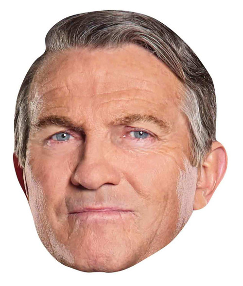 Graham from 13th Doctor Who Official Single 2D Card Party Face Mas