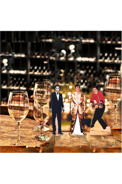 Elvis Table Top Cardboard Cutouts In-Situ