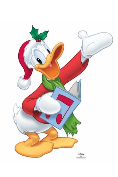 Donald Duck Christmas Carol Official Disney Cardboard Cutout