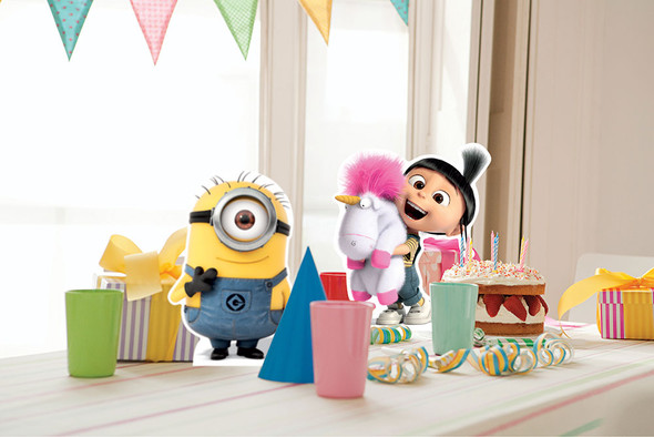 Mischievous Minions from Despicable Me Table Top in situ