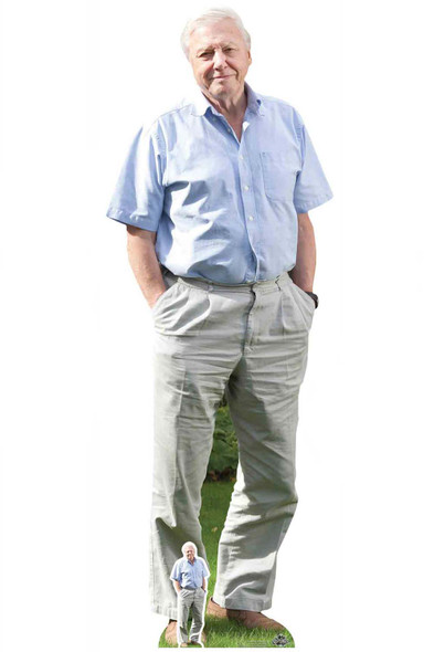 Sir David Attenborough Celebrity Cardboard Cutout