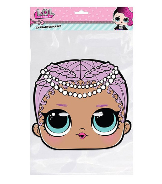 Merbaby LOL Surprise Single 2D Card Party Face Mask