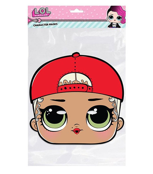 M.C. Swag LOL Surprise Single 2D Card Party Face Mask