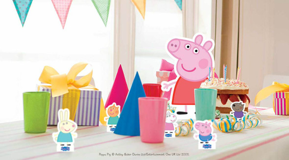 Peppa Tabletop in situ