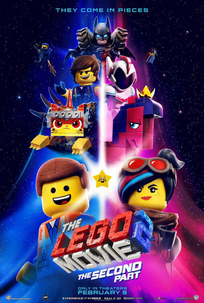 Lego Movie 2 Original Movie Poster - Double Sided Advance Style