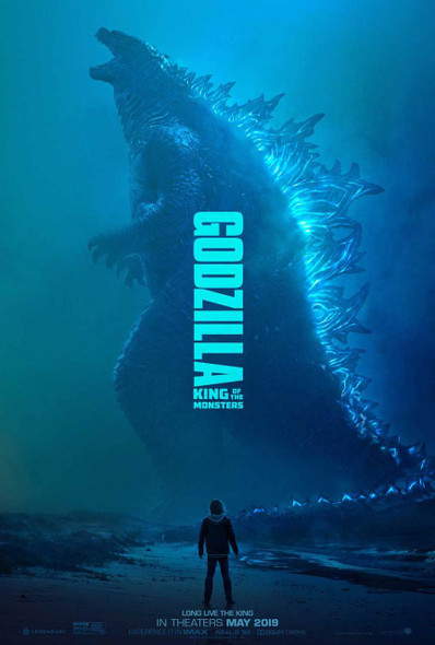 Godzilla: King of the Monsters Original Movie Poster - Double Sided Advance Style