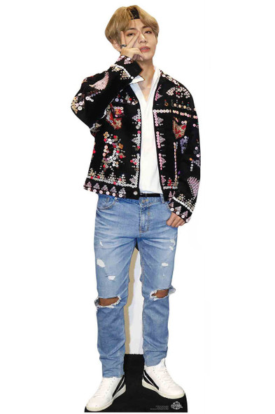V from BTS Bangtan Boys Mini Cardboard Cutout / Standup