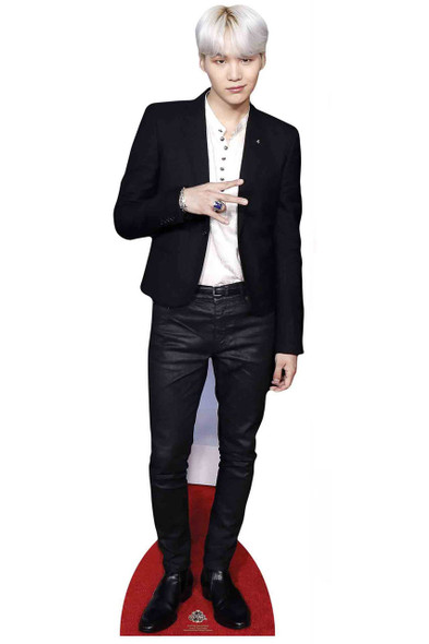 Suga from BTS Bangtan Boys Mini Cardboard Cutout / Standup