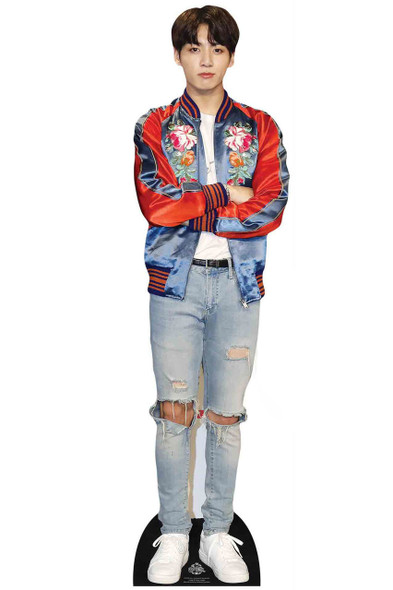 Jungkook from BTS Bangtan Boys Mini Cardboard Cutout / Standup