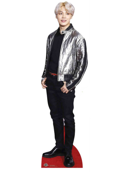 Jimin from BTS Bangtan Boys Mini Cardboard Cutout / Standup