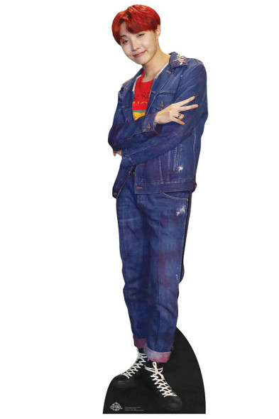 J-Hope from BTS Bangtan Boys Mini Cardboard Cutout / Standup