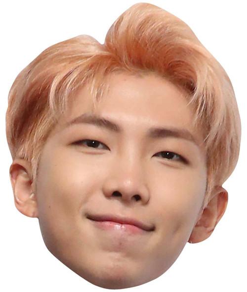 RM from BTS Bangtan Boys 2D Card Party Face Mask