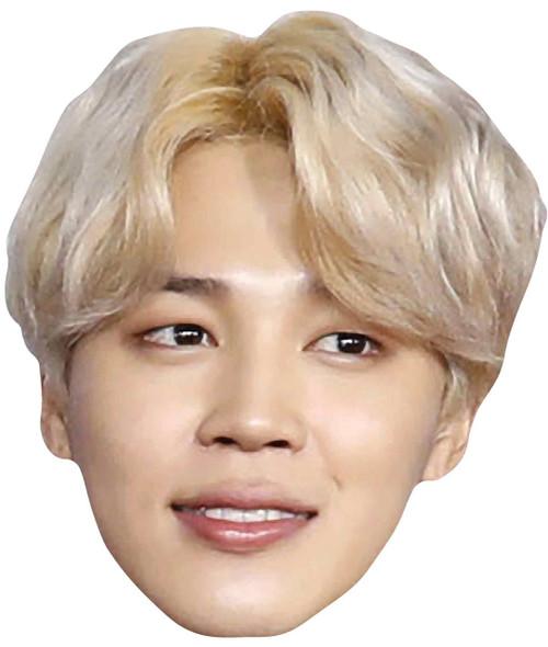 Jimin from BTS Bangtan Boys 2D Card Party Face Mask