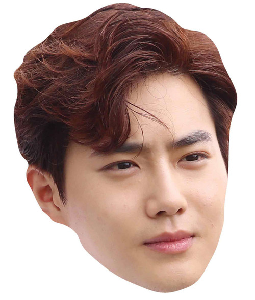 Suho from Exo 2D Card Party Face Mask