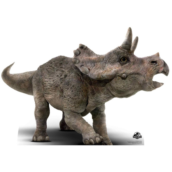 Triceratops Baby Official Jurassic World Lifesize Cardboard Cutout