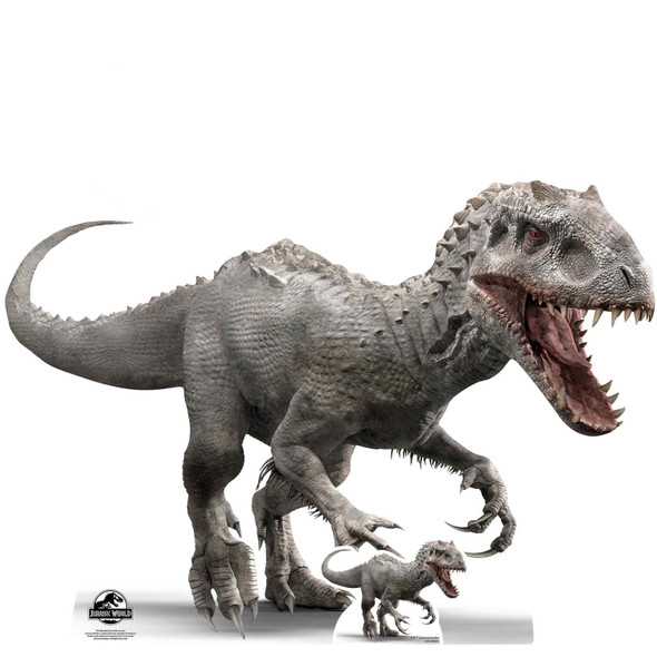 Indominus Rex Official Jurassic World Cardboard Cutout / Standee