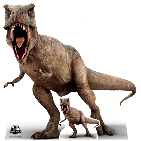 Tyrannosaurus Rex Official Jurassic World Cardboard Cutout / Standee
