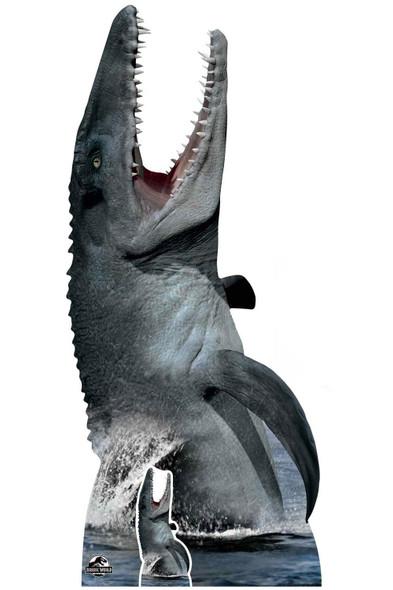 Mosasaurus Official Jurassic World Lifesize Cardboard Cutout / Standee