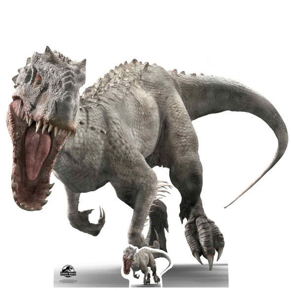 Indominus Rex Roar Style Official Jurassic World Lifesize Cardboard Cutout / Standee