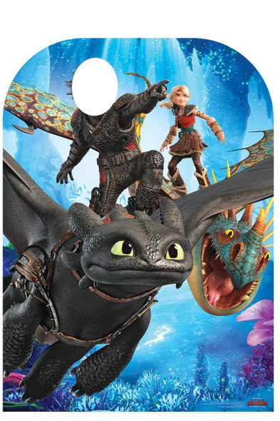 How to Train Your Dragon 3 Child Size Stand In Official Cardboard Cutout