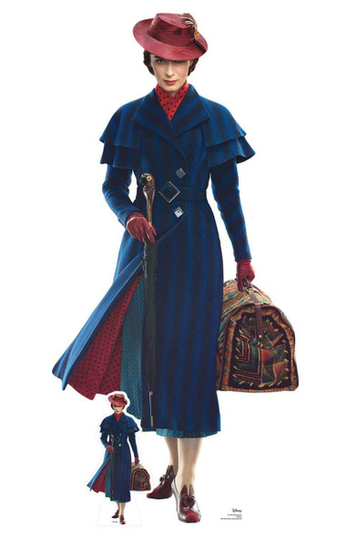 Mary Poppins Lifesize Cardboard Cutout / Standee / Standup