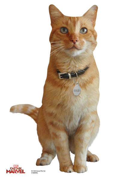 Goose the Cat from Captain Marvel Official Cardboard Cutout/ Standup