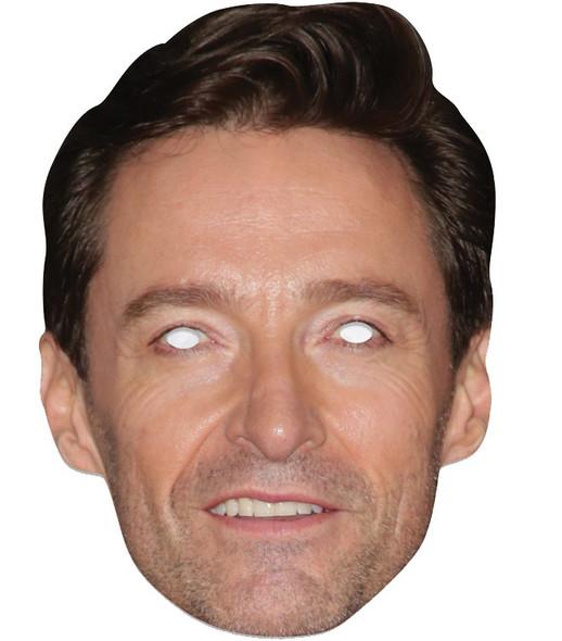 Hugh Jackman Single 2D Card Party Face Mask