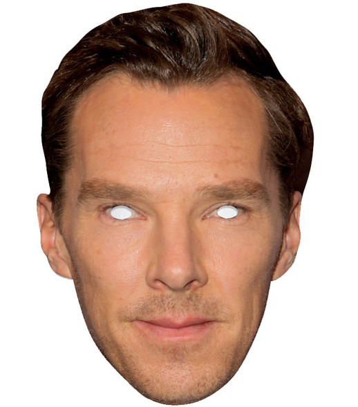 Benedict Cumberbatch Single 2D Card Party Face Mask