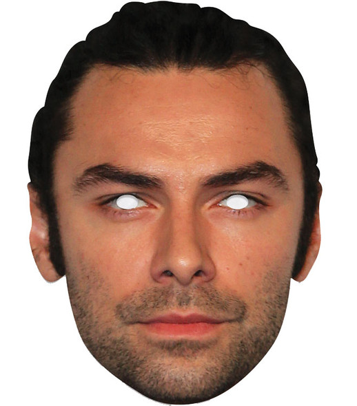 Aidan Turner Single 2D Card Party Face Mask